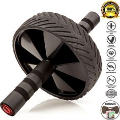 Fitnessery Ab Roller & 3 FREE Bonuses - Fitness Equipment for Abs & Six Pack Training - The Perfect Ab Wheel For Ab Toning - Ideal for Home Gym Workout - The Perfect Fitness Equipment for Women & Men. ★ SCULPT YOUR ABS: Looking to tone your midsection or strengthen your core? As one of the best pieces of home gym workout equipment for abs, the Fitnessery Ab Roller acts as your personal fitness trainer, helping you burn calories, build muscle and improve your overall endurance. Add To Cart...
