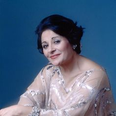 Victoria de los Angeles. I attended one of her recitals at the Festival Hall in 1966.