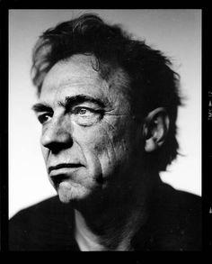Jan Mulder (1945) - Dutch former footballer, writer, columnist and TV personality. Photo by Stephan Vanfleteren