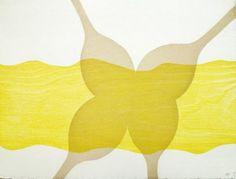 ALISON WILDING / found on www.kunzt.gallery / Beach fork, 2010 / Woodcut