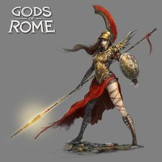 Gods of Rome - Characters Roster - Gameloft, Alexandre Chaudret on ArtStation at https://www.artstation.com/artwork/4kVYn