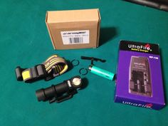 Wizard Pro XM-L2 LED White Headlamp Package with 18650 battery and charger 1010 Lumens                             $109.95