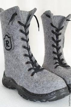 """Обувь ручной работы. Заказать Ботинки  """"Real"""". Климчук Марина    mari_tyme. Ярмарка Мастеров. Мужская обувь"""
