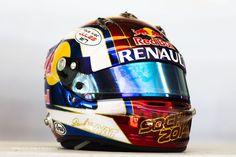 Daniil Kvyat helmet, Toro Rosso, Sochi Autodrom, 2014 Russia