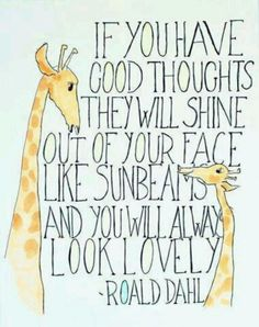 Lovely sayings