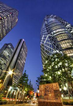 "Cocoon Tower Shinjuku,Tokyo, Japan ""-""."