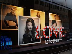 love loves denim, pinned by Ton van der Veer