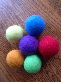 How To Easily Felt A Ball ( Or a make a Dryer Ball)