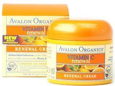Avalon Organics Vitamin C Renewal Facial Cream 2 oz #AvalonOrganics