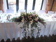 Top Table Flowers!