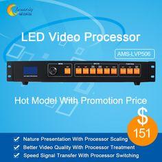 >> Click to Buy << AMS-LVP506 led rental display video processor av/dvi/vga input support 2 sending card 1920*1080 pixel for smd led panel #Affiliate