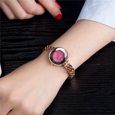 Fashion Womens Watches Trendy Rose Gold Thin Strap Colorful Dial Quartz Minimalist Watches for Women is hot-sale, waterproof watches, bracelet watch, and more other cheap women watches are provided on NewChic. Jewelry Sets, Women Jewelry, Waterproof Watch, Pendant Earrings, Anklet, Bracelet Watch, Rose Gold, Luxury, Womens Fashion