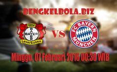 Prediksi Bayer Leverkusen vs Bayern Munchen 07 Februari 2016