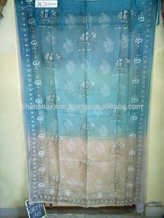 Check out this product on Alibaba.com APP Blue and white curtains in linen Fine quality japanese style Noren curtains