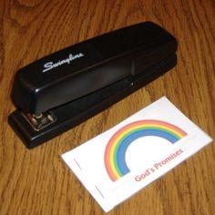 Rainbow Promise Bible Craft Activity