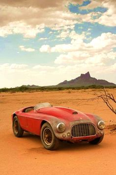 1948 Ferrari 166 MM Barchetta ...   The Classic Car Feed - Classic and antique cars   combustible-contraptions November 2014