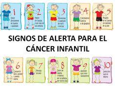 Signos de alerta para el cáncer infantil #infografia #infographic #health