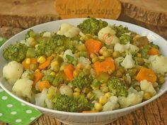 Brokolili Karnabahar Salatası Resimli Tarifi - Yemek Tarifleri