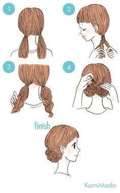 New Hairstyles Messy Short Low Buns 65 Ideas New Hairstyles Messy Short Low Buns 65 Ideas Hairstyles Half Braided Hairstyles, Cute Simple Hairstyles, Bun Hairstyles, Beautiful Hairstyles, Braided Buns, Hairstyles For Short Hair Easy, Two Buns Hairstyle, Hairstyle Pictures, Teenage Hairstyles
