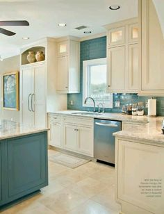Want the two tone cabinets, but cabinets a bit too busy