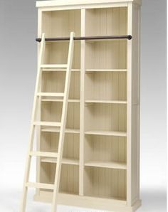 bookcase .... I'm going to have the rolly ladder in my future library :)