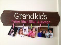 Grandkids plaque for all the great grandmas