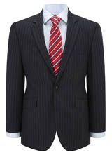 "Regular Fit Navy British Stripe Suit from ""Austin Reed"", Purchase on discounted price using coupon codes and promotional codes."
