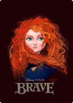 Merida - Brave by MZ09.deviantart.com on @deviantART