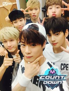 They kill me with how adorable they are #mcountdown #astro