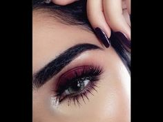 Burgundy/Pink Smokey Eye tutorial ft. Anastasia Modern Renaissance Palette - YouTube