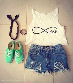 infinity <3 I love this, but with nicer shorts.