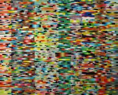 MARK OTTENS, UNTITLED (Fleeting Stripes), Acrylic on Panel, 16 x 20