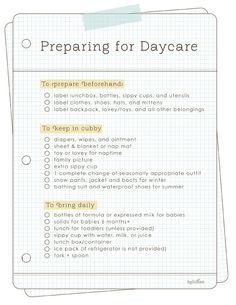 {Preparing for Daycare...} I have to remember this for Aven...I am stressing that she is getting thttp://pinterest.com/all/?category=kids#o that age
