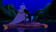 ♫ I can show you the world, shining, shimmering, splendid! ♫