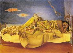 El sueño de la Malinche / Malinche's Dream by Antonio Ruiz (Galería de Arte Mexicano, Mexico City, 1939)