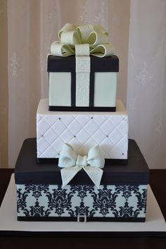 Wedding Gift Cake #weddingcake