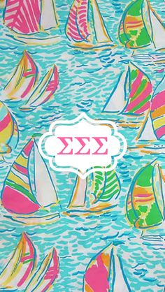Tri sigma Lilly wallpaper