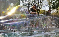 Hedendaagse architectuur is een zeepbel