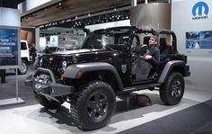 Jeep Wrangler Rubicon Black 2 Door