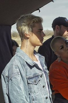 Justin Bieber wearing  Fear of God Denim Raglan Trucker Romper Jacket