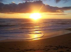 Sunrise on Daytona Beach FLORIDA