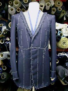 Koichi's jacket at Richard James, Savile Row