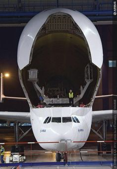The Airbus A300-600ST Beluga
