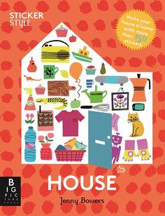Sticker Style: Home by Jenny Bowers