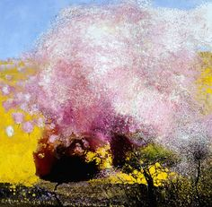 eating oranges off trees, smelling the almond blossom - kurt jackson