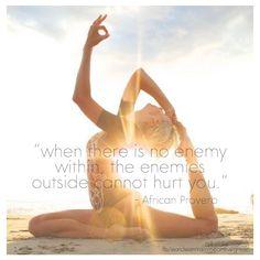 No enemy inside
