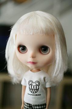 Milky Robot: Squid, my grumpy girl