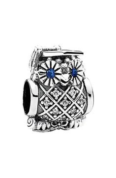 PANDORA 'Graduate' Owl Bead Charm available at #Nordstrom
