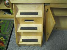 Details About Wooden Step Up Changing Table By Kaplan | Wooden Steps, Change  Tables And Baby Nursery Furniture