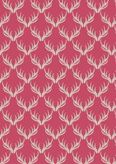Antlers on Rose Stag Deer Woodland Cotton Fabric from the A Walk in the Glen 2016 collection by Lewis and Irene per metre per fat quarter Stag Antlers, Stag Deer, Designer Fabrics Online, Fabric Online, Christmas Fabric, Winter Christmas, Cotton Quilting Fabric, Deep, Dressmaking